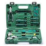 WXTLA 15-teiliger Universale Werkzeugkoffer, Premium Werkzeugset für den Heimwerker, Werkzeugsortiment - Werkzeug-Set - Werkzeug für den t?glichen Gebrauch/Werkzeugkoffer befüllt