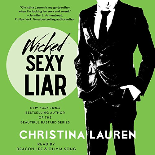 Wicked Sexy Liar audiobook cover art
