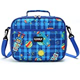 Lunch Box Insulated Lunch Bag with Strap Zippered Lunch Container for Toddler Kids Girls Boys Teens,...