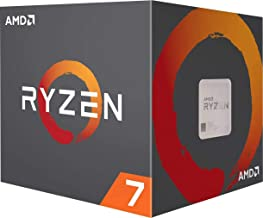 AMD Ryzen 7 3800X 8-Core, 16-Thread Unlocked Desktop Processor with Wraith Prism LED Cooler
