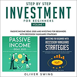 Step by Step Investing for Beginners - Volume 1 cover art
