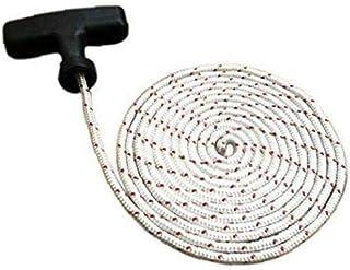 MICHAELA BLACK Mango 2m Arranque de Retroceso con la Cuerda de 4 mm Diámetro del Mango de la Cuerda de la Cuerda del tirón de la Motosierra Herramientas de Bricolaje cortabordes