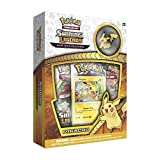 Pokemon SM3.5 Shining Legends Pikachu Pin Box Toy, Camouflage
