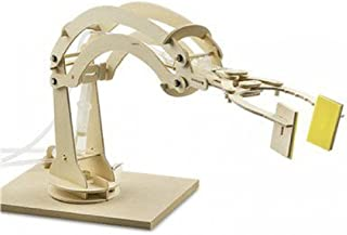 Wonderology Hydraulic Robotic Arm – Interactive Engineering Toy for Kids