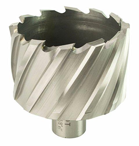 "Steel Dragon Tools 2-3/8"" x 1"" High Speed Steel Annular Cutter with 3/4"" Weldon Shank"