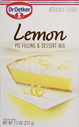 Dr Oetker Lemon Pie Filling and Dessert Mix, 7.5-Ounce (Pack of 12)