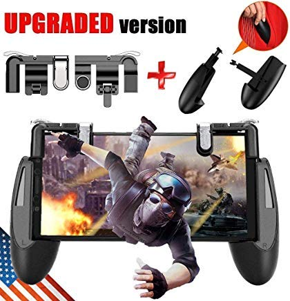SEMSA PUBG Mobile Game Controller – [New Version] Cell Phone Gaming Joystick Accessories, Gamepad,...