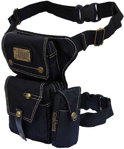 Genda 2Archer Tactical Waist Bag Travel Drop Leg Bag Nylon Waterproof