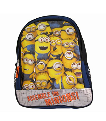 """Despicable Me2 16"""" Backpack""""Assemble the Minions!"""""""