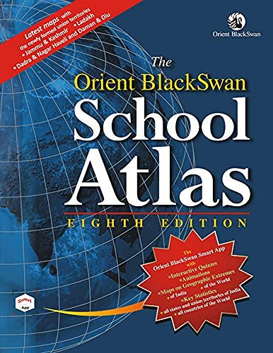 Orient BlackSwan School Atlas - 8th Edition