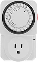 Digital Electronic Plug-in Programmable 24 Hour Timer Switch Socket Home Security System Control Time Setting Switch Socket
