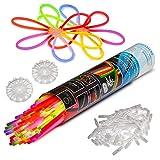 100 Knicklichter KNIXS für Armbänder inkl. 100 x 3D-Verbinder