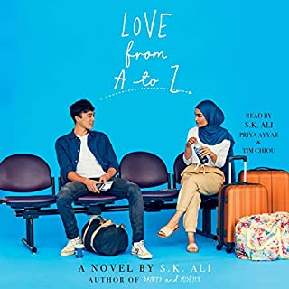 Love from A to Z audiobook cover art