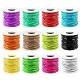 Plastic Lanyard String, Mckanti 12 Packs...