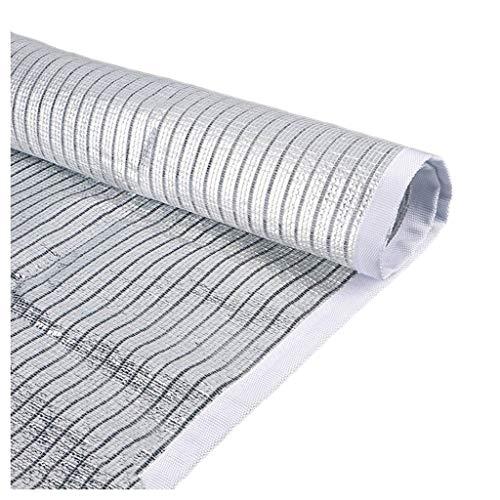 Preisvergleich Produktbild 70% Reflektierend Aluminet Schatten Tuch Draussen Terrasse Party Sonnencreme Überdachung Sonnensegel Anti-UV Block zum Gewächshaus Sonnensegel Markise Überdachung,  Rechteck Mehrere Größen