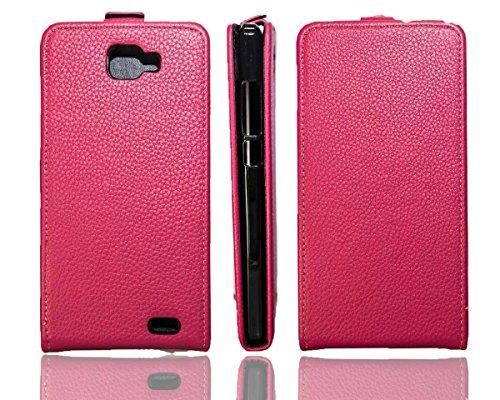 caseroxx Flip Cover für Archos 50B Oxygen, Tasche (Flip Cover in pink)