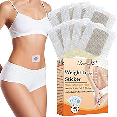 Weight Loss Patches, Slimming Patches, Slim Patches for Weight loss, Magnetic Fat Burning Abdominal Fat Away Sticker, Fit Slim Fat Burning Sticker for Loose Belly Arms and Thigh(30Pcs)