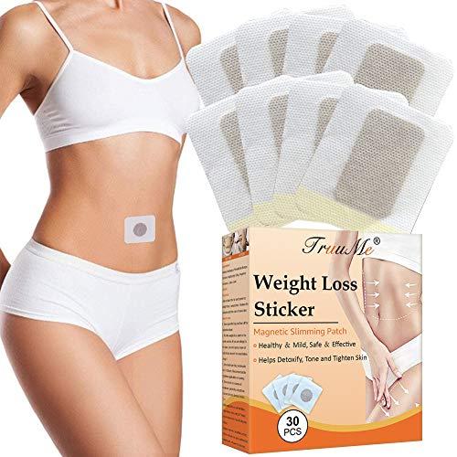 Slimming Patch, Abnehmen Patch, Slim Patch, Anti Cellulite & Fat Burning Bauch Arme und Oberschenkel, Starke Wirksamkeit und Sicherheit - 30 Stück