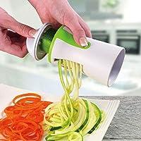 スライサー 1PCブレード野菜ハンドヘルドスパイラルフルーツおろし金はパスタキッチンガジェットツールを調理します みじん切り (Color : As photo, Size : -)