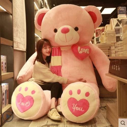 Xfwj Lindo oso como un regalo de cumpleaños para su novia 2021 Últimos Últimos Últimos Teddy Bear Office Asiento Almohada Cojín Cojín Cojín Cojín Lumbar Almohada Atrás Cojín Silla Cintura Sofá