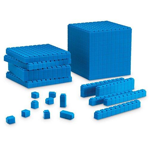 Learning- Set de Base Diez para Principiantes con Piezas encajables Resources, Color (LER6356)