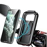 Lipeed Soporte para teléfono móvil para bicicleta, impermeable, con pantalla táctil, soporte para bicicleta