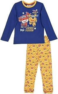 Pijamas Boys (98 - Aproximadamente 2-3 años, Azul)