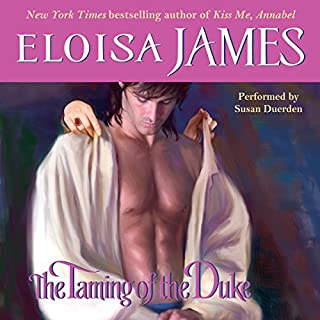 The Taming of the Duke audiobook cover art