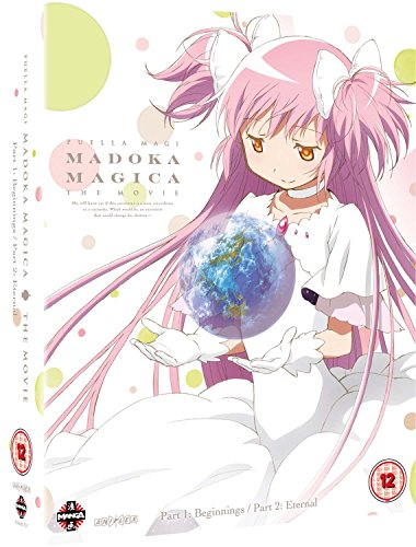 Puella Magi Madoka Magica The Movie: Part 1 and Part 2 - Beginnings/Eternal Blu-ray [Reino Unido] [Blu-ray]