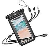 YOSH Pochette Étanche Téléphone [Certifiée IPX8] Housse Étanche Smartphones Universel pour écrans Jusqu'à 6,1 Pouces pour...