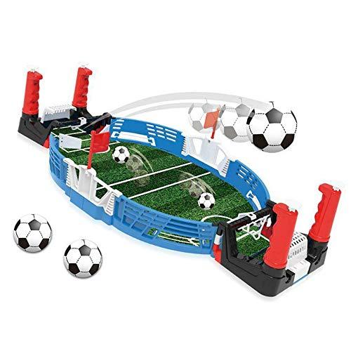 LQKYWNA Mini Juego De Fútbol De Mesa De Futbolín con Dos Bolas Accesorios De Campo De Puntuación para Arcadas Sala De Juegos Barras Fiestas Noche Familiar