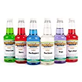 Hawaiian Shaved Ice, Syrup, 16 Fl Oz, 6 Pack