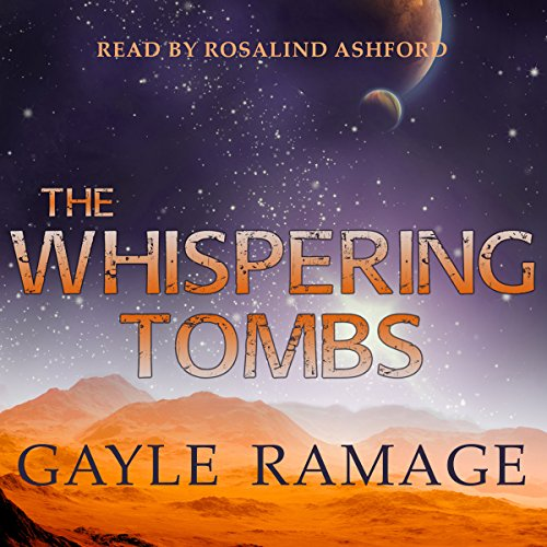 The Whispering Tombs audiobook cover art