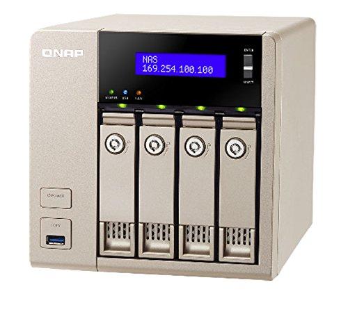 Preisvergleich Produktbild QNAP TVS-463 2.4GHz QuadCore 8GB 4-Bay vNAS Bundle mit 2x 8TB ST8000VN0002