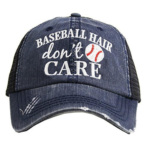 KATYDID Baseball Haar Don 't Care Damen Trucker hat-navy