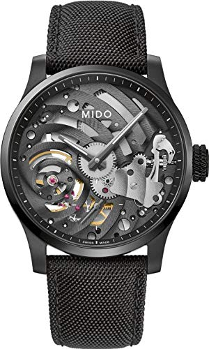 Mido orologio Multifort Mechanical Skeleton Limited Edition 44mm carica manuale titanio M032.605.47.410.00 - Default Title