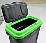 Home and Garden Products 35L Large Pet Food Container Dog Cat Animal Storage Bin 16KG Dry Feed 23KG Seed - MaxiPet