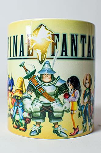 Taza - Final Fantasy IX - Amarillo