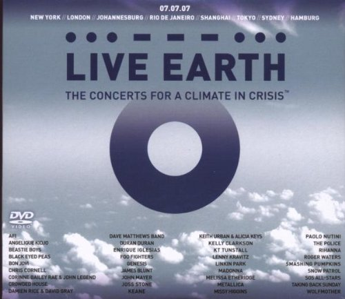 Live Earth - Concerts For A Climate In Crisis ( CD+2DVD)