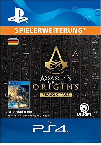 Assassin's Creed Origins - Season Pass | DLC | PS4 Download Code - deutsches Konto