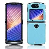 GOGME Hülle für Motorola Razr 5G Handyhülle, Schlanke Leichte Weiche Silikon Stoßfeste Schutzhülle, Blau