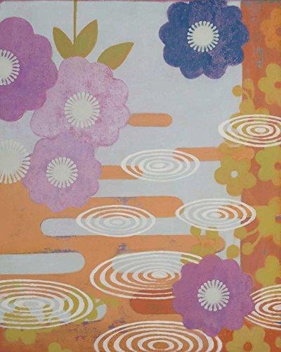 AFDRUKKEN-op-GEROLDE-CANVAS-Drie-Kimono-C-Baxley-SallyBennett-Children-''s-Art-Afbeelding-gedruckt-op-canvas-100%-katoen-Opgerolde-canvas-print-Kunstdruk-Afmeting-84_X_67_cm