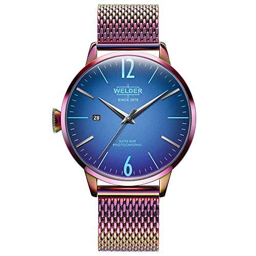 Reloj Welder WRC818 Smoothy Hombre Azul Acero