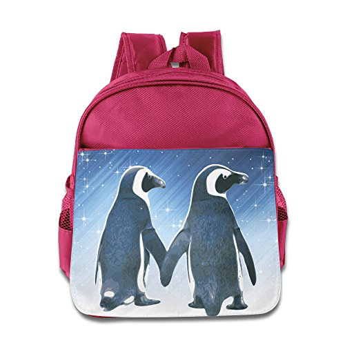 Elf Story–lovely Penguin Couple Little Kid Baby ragazzi e ragazze scuola, blu reale, Pink, taglia unica