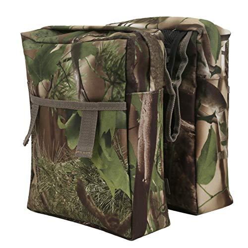 ATV-Aufbewahrungstasche, Lint Camouflage ATV-Tasche, 23,6 x 8,1 x 27,6 cm Verschleißfeste Tarnfarbe für Rucksacktouren Camping Outdoor-Reisen Wandern ATV-Angeln