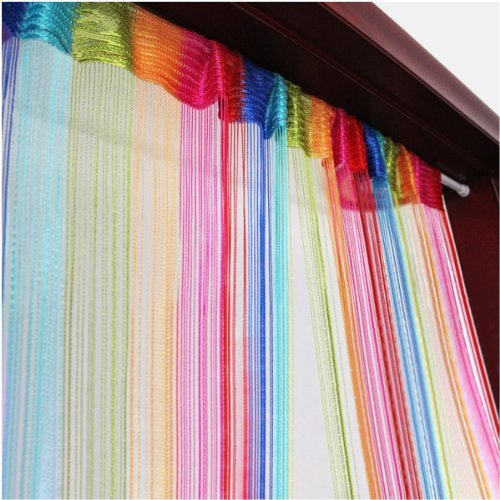 Tangpan 6 Color Colorful Door Window Panel Room Divider Curtain String Strip Tassel in Party Events