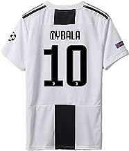 ZhouDress Juventus 2018/2019 Season 10 Dybala Home Mens Soccer Jersey & Armbands (S-L)