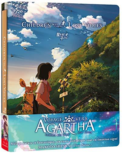 Voyage vers Agartha Bluray [Édition boîtier SteelBook Combo Blu-Ray + DVD + CD BO]