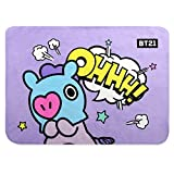 BTS Official Character Flannel Sheep Blanket (MANG)