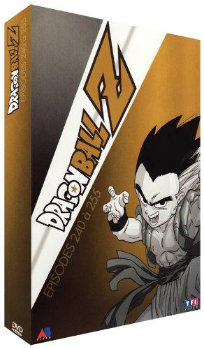 Dragon Ball Z-Coffret 4 DVD-13-Épisodes 240 à 255